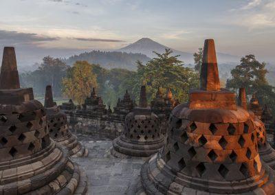 Indonésie départ Perpignan Clémenceau voyages Borobudur 5